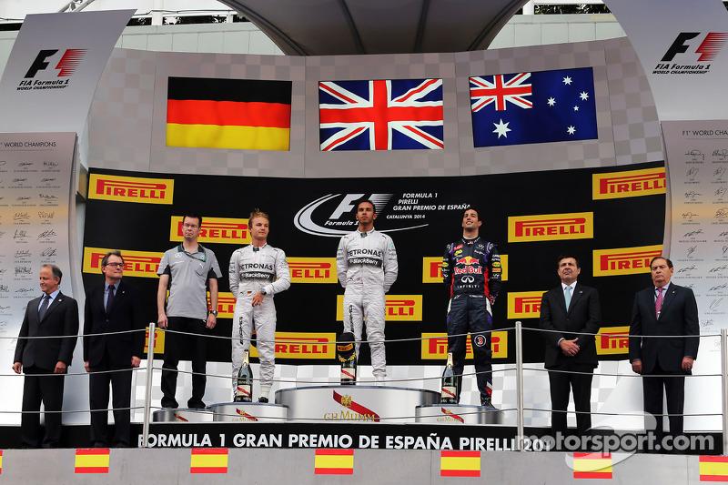 16 (2014) GP de España Segundo lugar