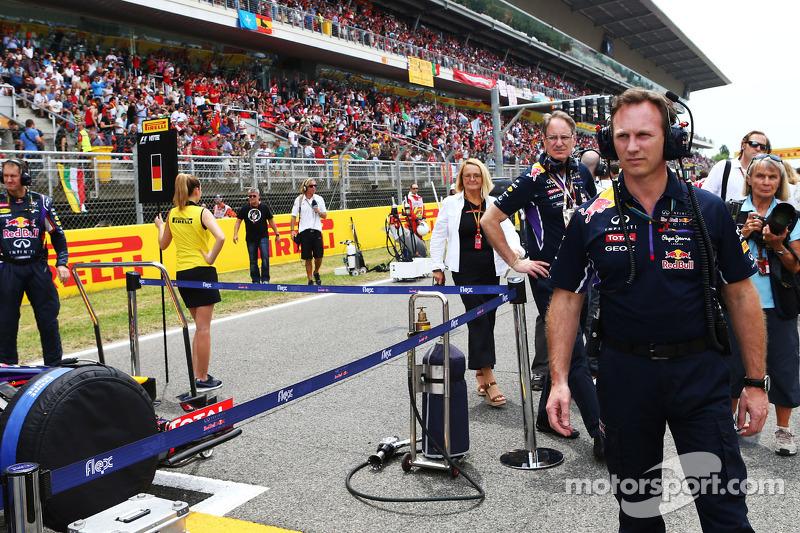 Christian Horner, Red Bull Racing Takım Patronu gridde
