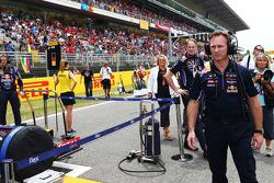 Startaufstellung: Christian Horner, Red Bull Racing, Teamchef
