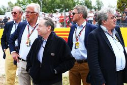 Jean Todt, FIA President, on the grid