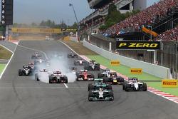 Arrancada Lewis Hamilton, Mercedes AMG F1 Team