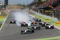 Rennstart: Lewis Hamilton, Mercedes AMG F1 Team