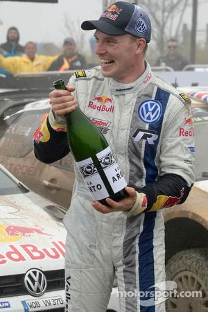 Winnaar Jari-Matti Latvala