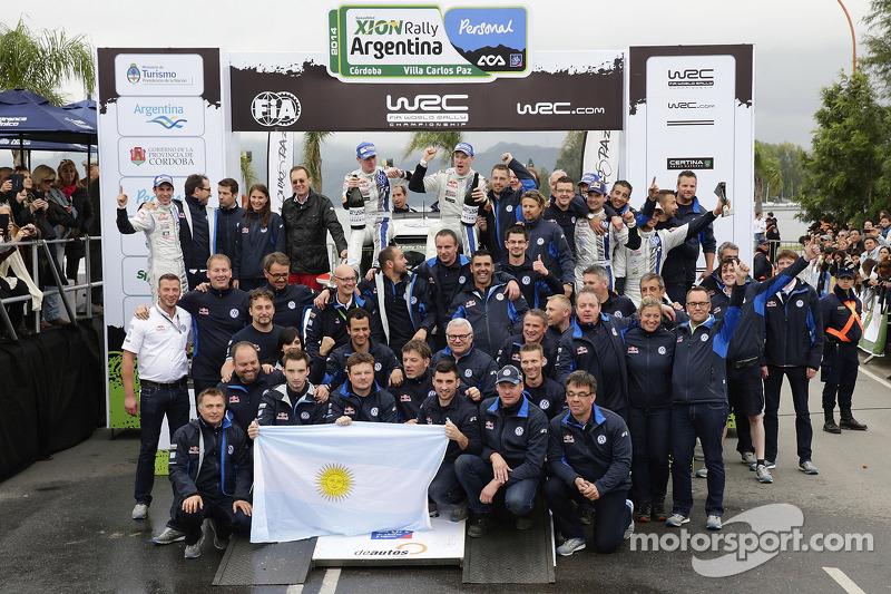 Squadra Volkswagen sul podio