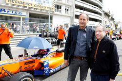 Gerhard Berger e Jean Todt, presidente della FIA