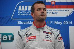 Себастьен Лёб. Словакия, воскресенье, после гонки.
