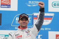 Winner Sébastien Loeb, Citroen C-Elysee WTCC, Citroen Total WTCC,