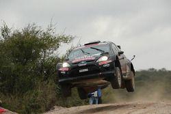 Nasser Al Attiyah et Giovanni Bernacchini, Ford Fiesta RRC