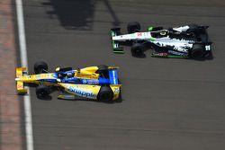 Marco Andretti et Sébastien Bourdais