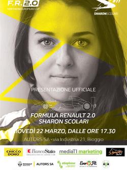 Sharon Scolari nella NEC di Formula Renault