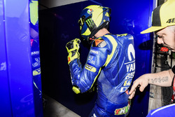 Valentino Rossi, Yamaha Factory Racing, après sa chute