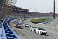 Toyota Camry pace car, Kyle Busch, Joe Gibbs Racing, Toyota Camry Interstate Batteries, Martin Truex Jr., Furniture Row Racing, Toyota Camry Bass Pro Shops/5-hour ENERGY