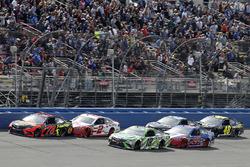 Martin Truex Jr., Furniture Row Racing, Toyota Camry Bass Pro Shops/5-hour ENERGY, Kyle Busch, Joe Gibbs Racing, Toyota Camry Interstate Batteries