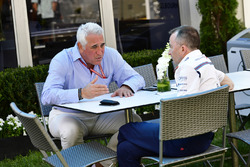 Lawrence Stroll, and Paddy Lowe, Williams Shareholder and Technical Director