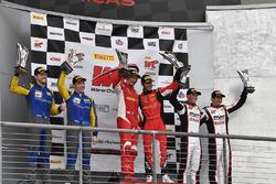 Lone Star Racing Mercedes-AMG GT3: , R.Ferri Motorsport Ferrari 488 GT3: Toni Vilander, Miguel Molina, Pfaff Motorsports Porsche 911 GT3 R: Scott Hargrove, Wolf Henzler