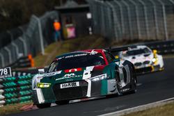#29 Audi Sport Team Land Audi R8 LMS: Christopher Mies, Kelvin Van Der Linde, Sheldon Van Der Linde