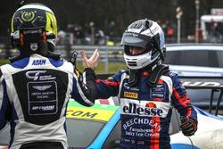 #75 Optimum Motorsport Aston Martin V12 Vantage GT3: Jonny Adam, #99 Beechdean AMR Aston Martin V12 Vantage GT3: Darren Turner
