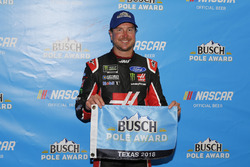 Kurt Busch, Stewart-Haas Racing, Ford Fusion Haas Automation/Monster Energy pole award