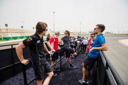 Ralph Boschung, MP Motorsport, Louis Deletraz, Charouz Racing System, Roberto Merhi, MP Motorsport, Luca Ghiotto, Campos Vexatec Racing
