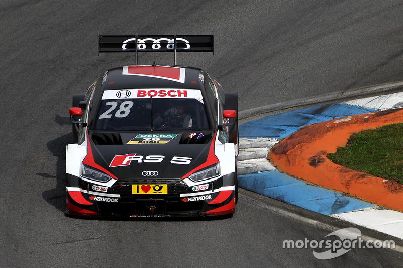 #28 Loic Duval, Audi Sport Team Phoenix, Audi RS 5 DTM