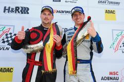 Podyum: #969 Porsche Cayman GT4 CS: Michael Rebhan, Moritz Kranz