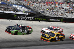Christopher Bell, Joe Gibbs Racing, Toyota Camry GameStop Seagate, \x21, and Cole Custer, Stewart-Haas Racing, Ford Mustang Haas Automation