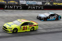 Paul Menard, Wood Brothers Racing, Ford Fusion Menards / Dutch Boy and Chad Finchum, Motorsports Bus