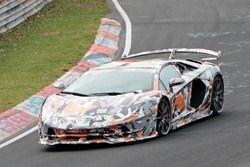 Spyshot Lamborghini Aventador SVJ