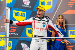 Podium: third place Rick Kelly, Nissan Motorsport