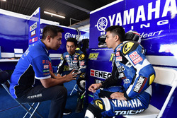 Wahyu Rusmayadi, Manajer Tim; M Faerozi dan Richard Taroreh, Yamaha Racing Indonesia
