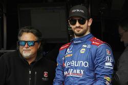 Alexander Rossi, Andretti Autosport Honda, mit Michael Andretti