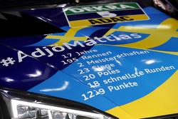 Hood of Mattias Ekström, Audi Sport Team Abt Sportsline, Audi RS5 DTM