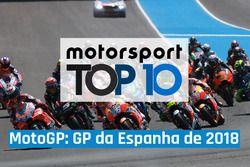 Top 10 MotoGP - GP da Espanha