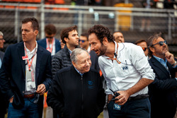 Jean Todt, Président de la FIA et Matteo Bonciani, délégué media de la FIA
