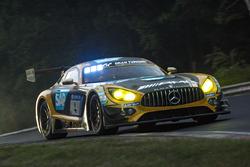 #4 Mercedes-AMG Team Black Falcon Mercedes-AMG GT3: Maro Engel, Adam Christodoulou, Manuel Metzger, Dirk Müller