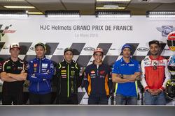 Aliex Espargaro, Valentino Rossi, Yamaha Factory Racing, Johann Zarco, Monster Yamaha Tech 3, Marc Marquez, Repsol Honda Team, Andrea Iannone, Team Suzuki MotoGP, Danilo Petrucci, Pramac Racing
