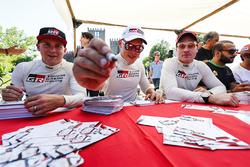 Esapekka Lappi, Jari-Matti Latvala, Ott Tanak, Toyota Racing