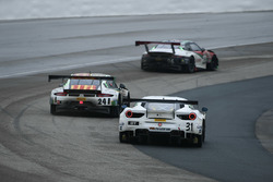 #31 TR3 Racing Ferrari 488 GT3: Daniel Mancinelli, #24 Alegra Motorsports Porsche 911 GT3 R: Michael Christensen, #96 Pfaff Motorsports Porsche 911 GT3 R: Scott Hargrove
