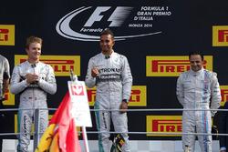 Podium: race winner Lewis Hamilton, Mercedes AMG F1, second place Nico Rosberg, Mercedes AMG F1, third place Felipe Massa, Williams Martini Racing