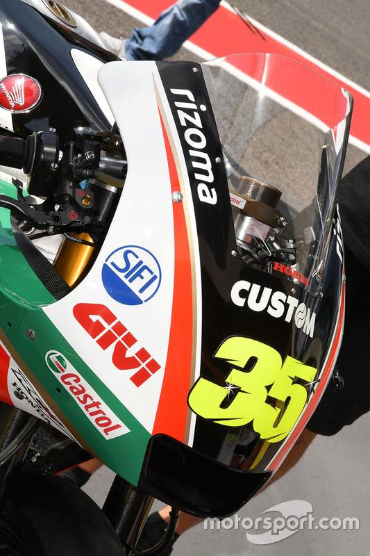Bike of Cal Crutchlow, Team LCR Honda