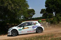 Andrea Carella, Enrico Bracchi, Peugeot 208T16 R5, Power Car Team