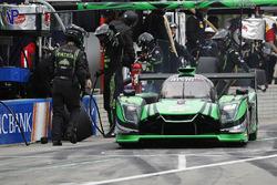 #2 Tequila Patron ESM Nissan DPi, P: Scott Sharp, Ryan Dalziel, pit stop