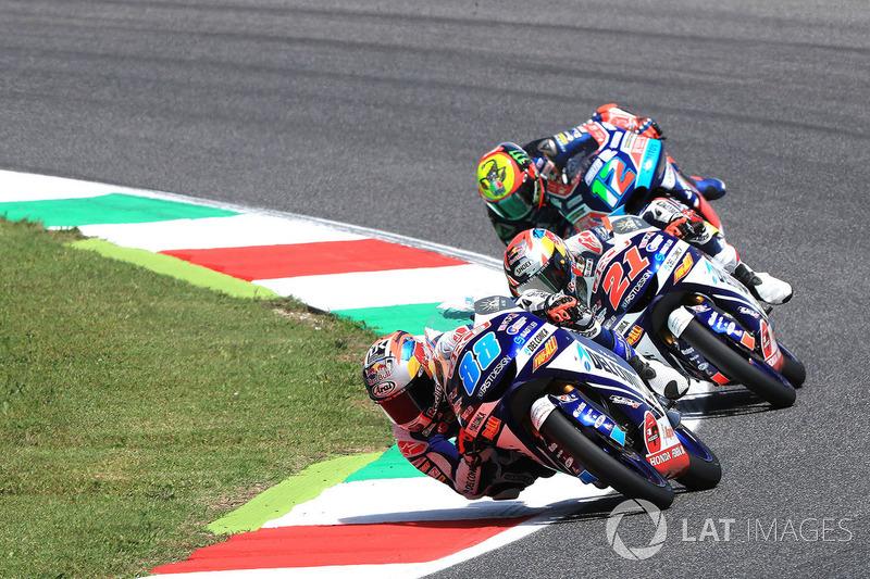 Moto3: 0,019 seconde
