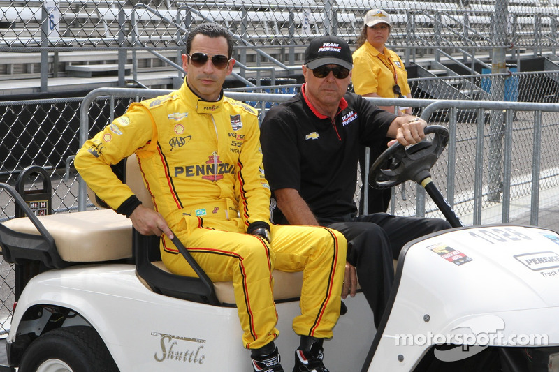 Helio Castroneves e Rick Mears