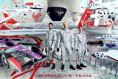 Virgin Racing - anúncio