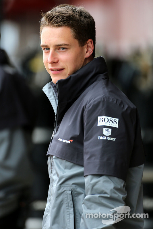 Stoffel Vandoorne, McLaren F1 Team, Testfahrer