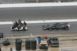 El coche de Carlos Huertas, Dale Coyne Racing Honda