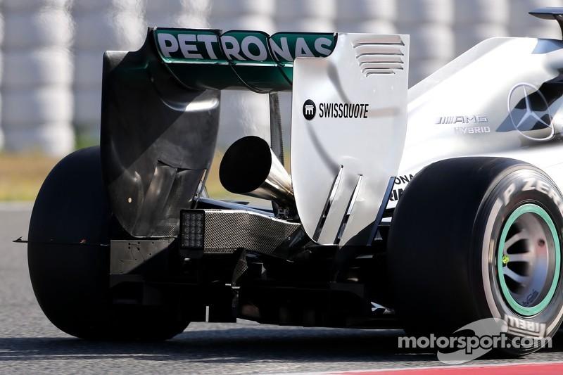 Test d'échappement Mercedes