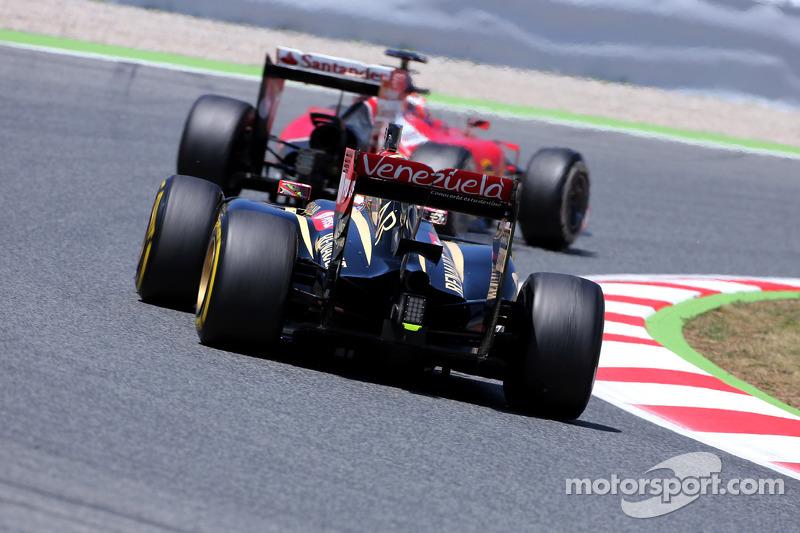 Pastor Maldonado, Lotus F1 Takımı ve Kimi Raikkonen, Scuderia Ferrari