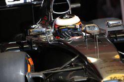 Stoffel Vandoorne, McLaren F1 Team piloto de prueba